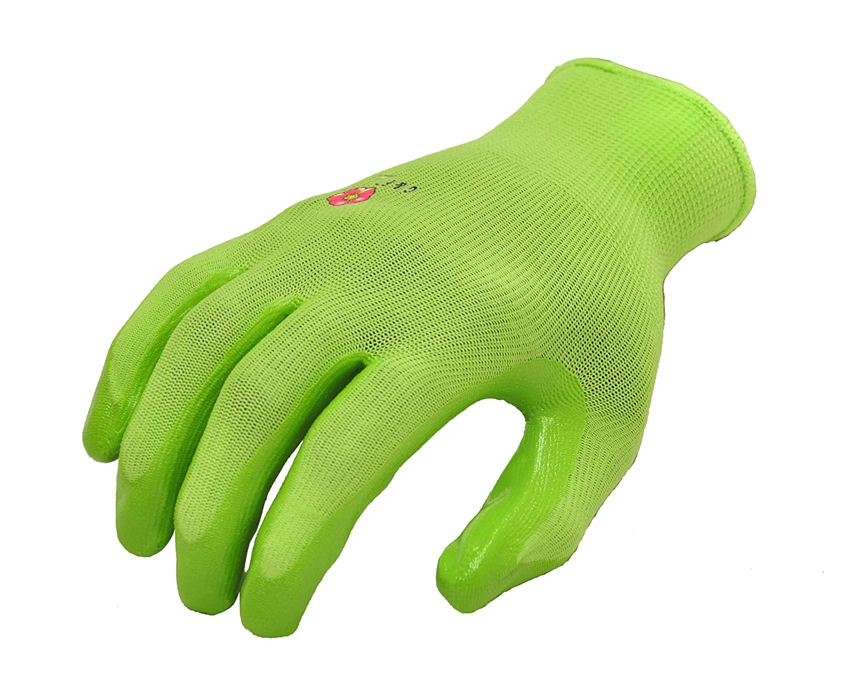G F 15226M Womens Garden Gloves nitrile coated work gloves
