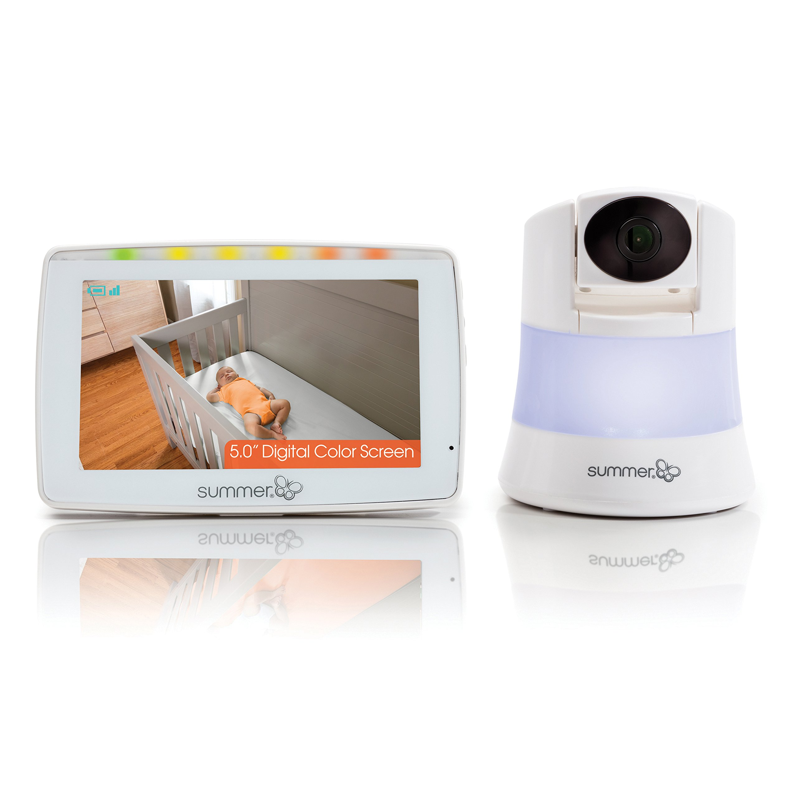 Summer Wide View 2.0 Baby Video Monitor with 5-inch Screen and Wide View Camera by Summer Infant