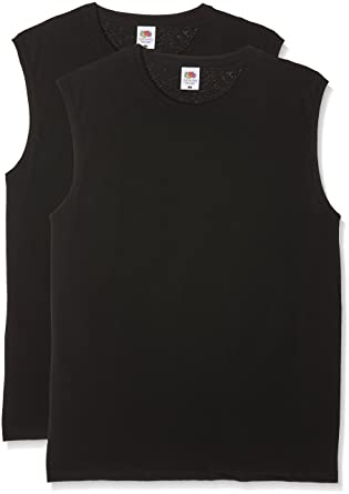 1c40ca4b3e53 Fruit of the Loom Herren T-Shirt Valueweight Tank T  Amazon.de  Bekleidung