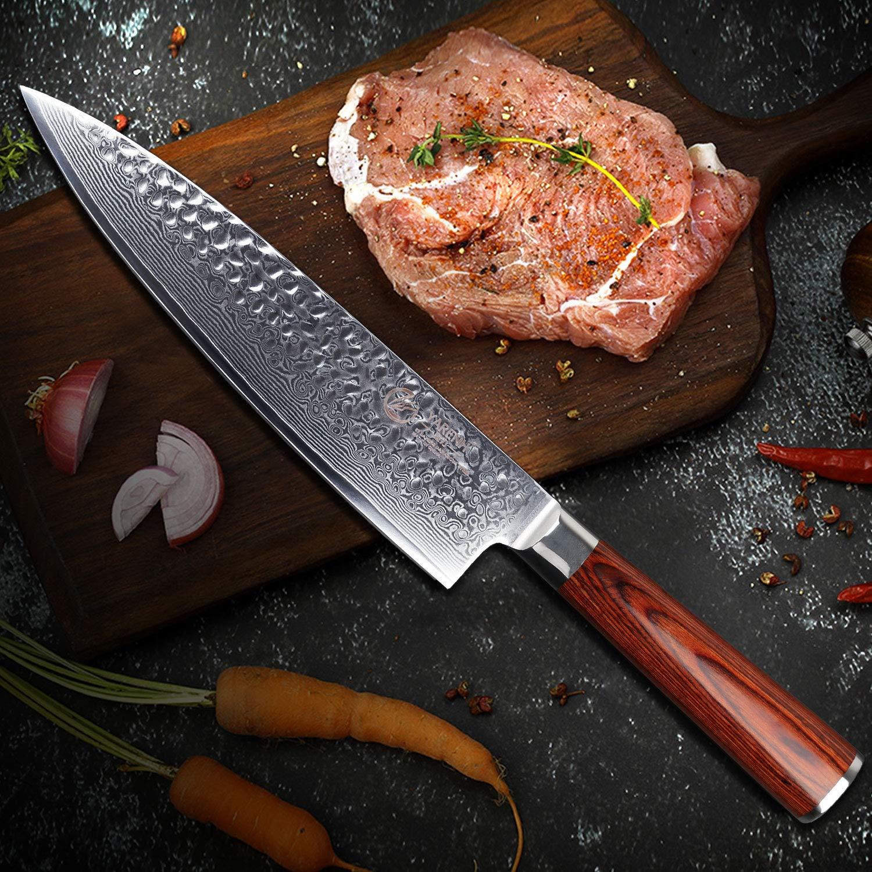 Compra YARENH Juego de Cuchillos de Cocina 5 Piezas, Set ...