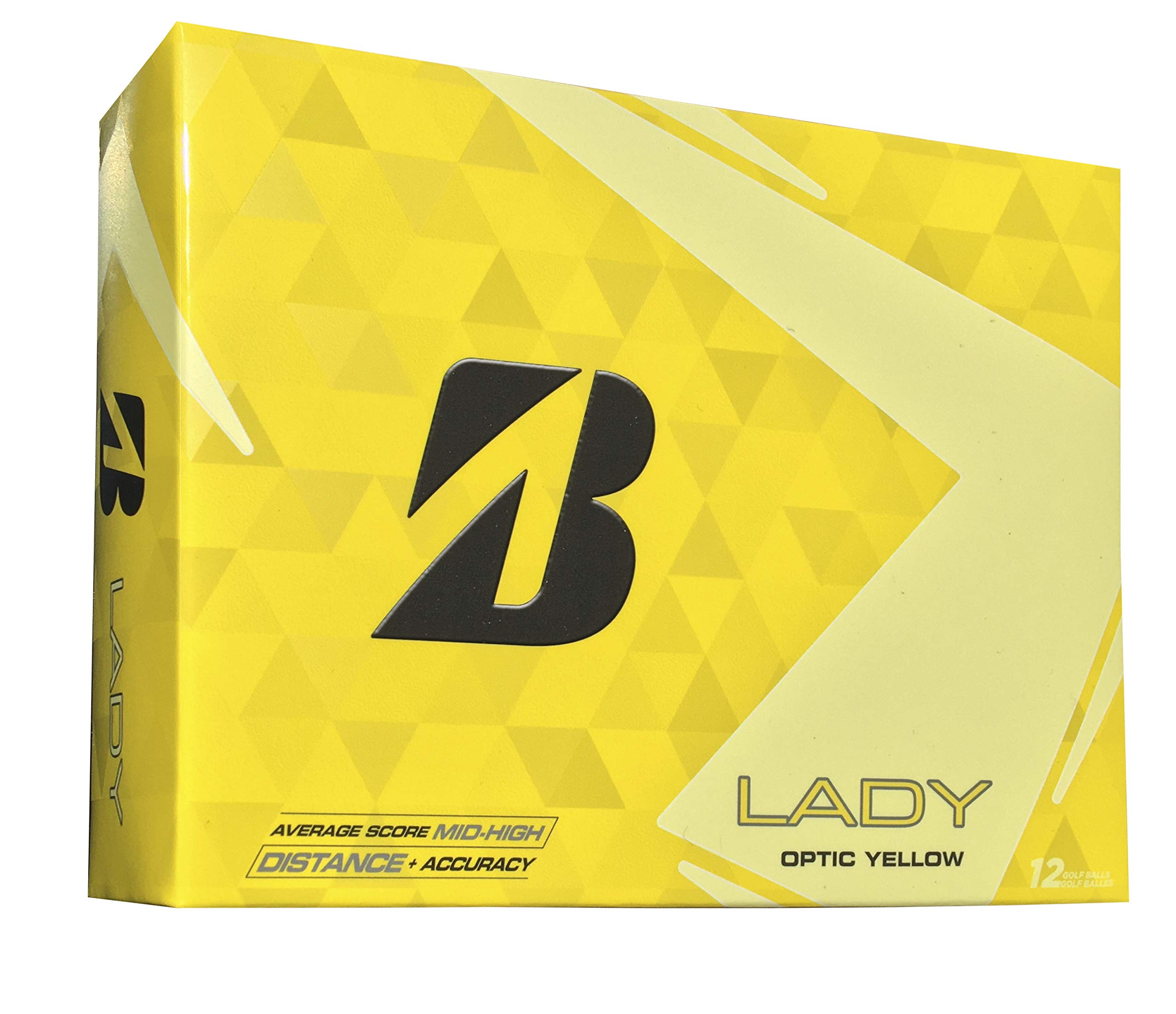 Bridgestone Golf 2015 Lady Precept Golf Balls (Pack of 12), Yellow by Bridgestone Golf