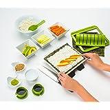Rouleau à Sushi Appareil à Sushis Coffret Complet DIY Sushi Maker
