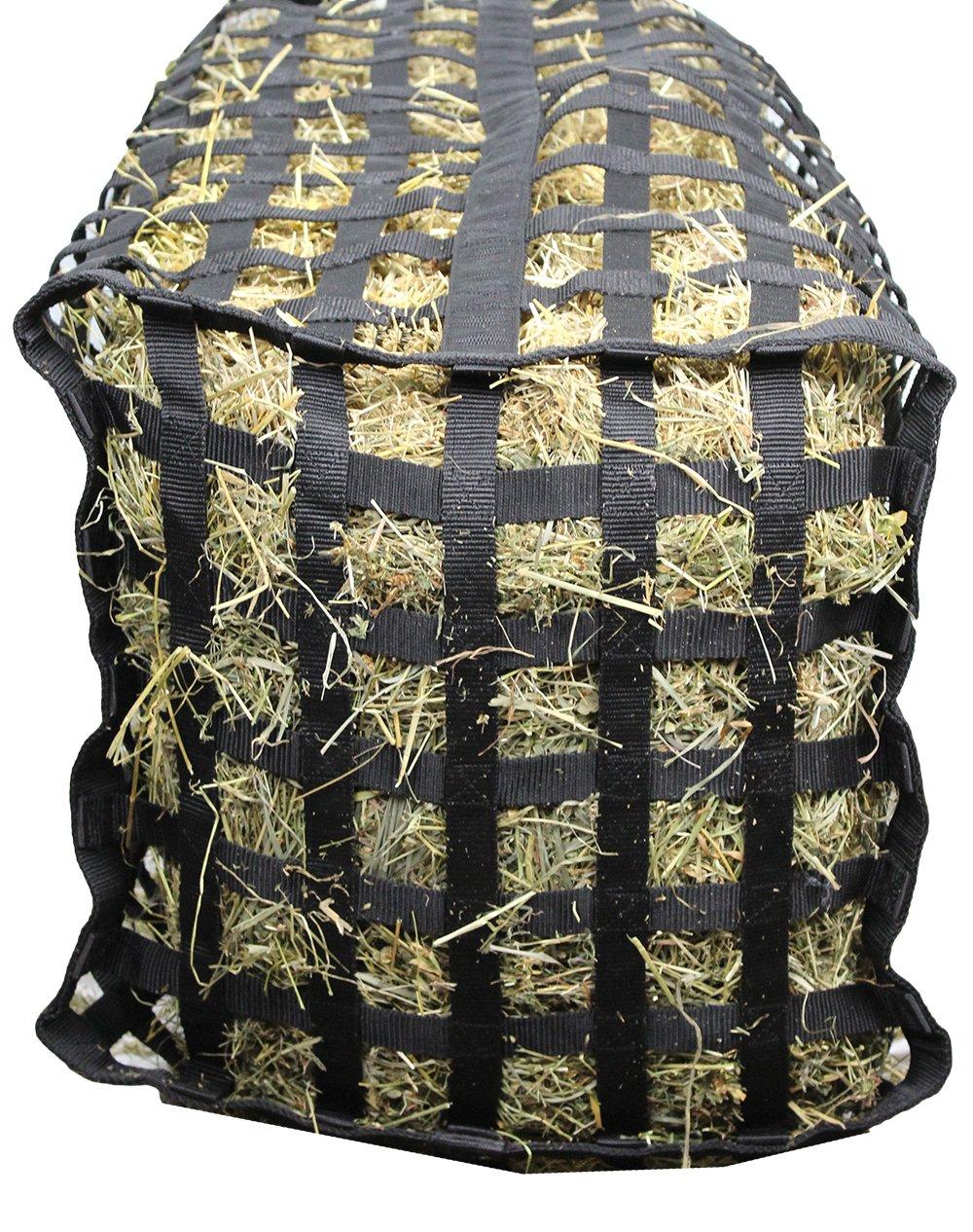 Derby Originals XL Go Around 4 Sided Slow Feed Hay Bale Bag Patented (Black) by Derby Originals (Image #6)