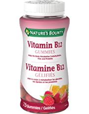 Nature's Bounty Vitamin B12 Supplement, Helps maintain good health, 75 Gummies