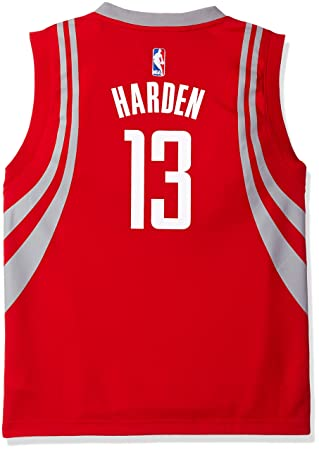 promo code f424a fa0f6 James Harden Houston Rockets Adidas NBA Replica Youth Jersey ...
