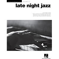 Late Night Jazz: Jazz Piano Solos Series Volume 27 (Jazz Piano Solos (Numbered)) book cover
