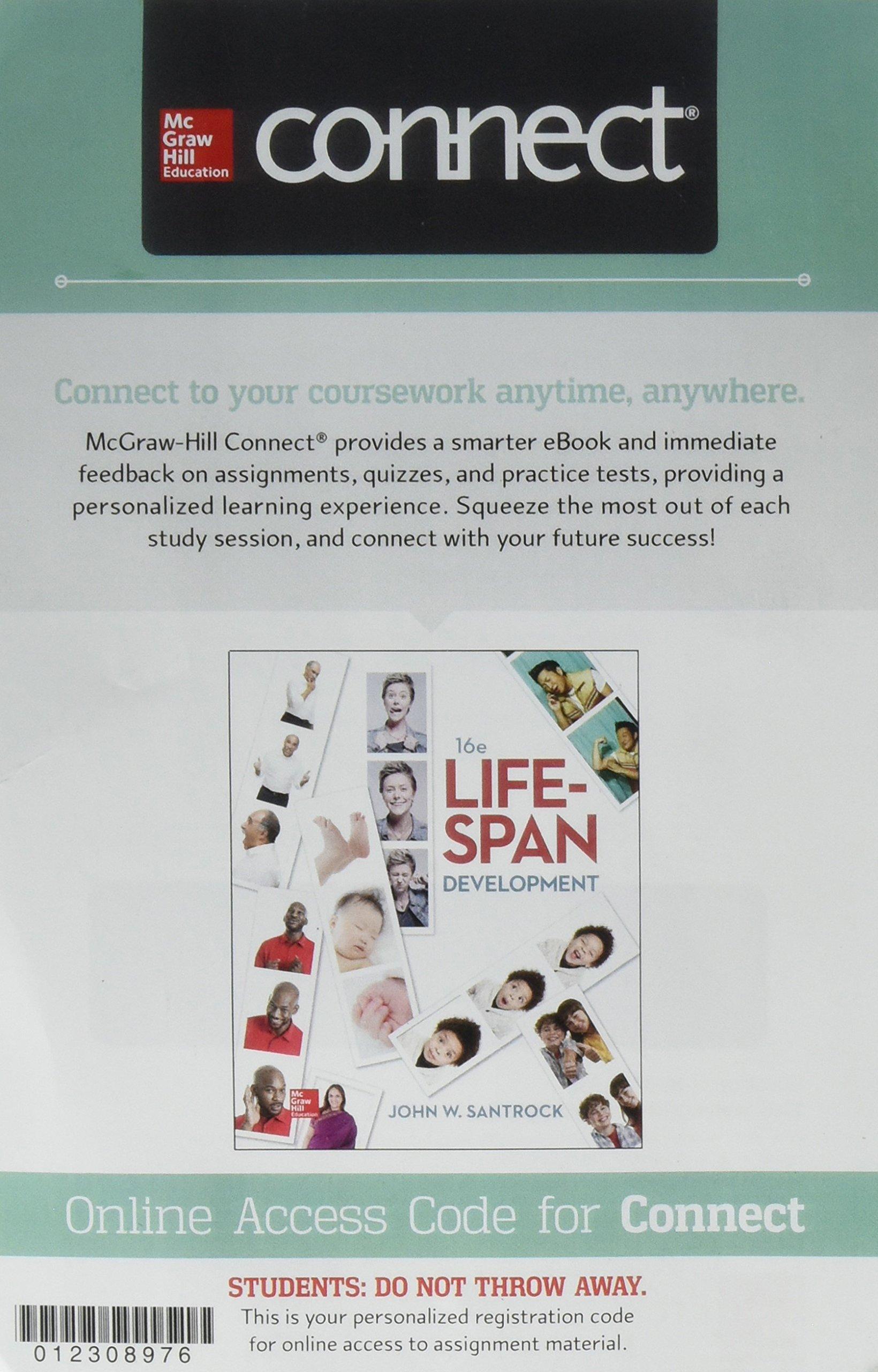 Connect Access Card for Life-Span Development: Amazon.co.uk: John Santrock:  9781259765490: Books