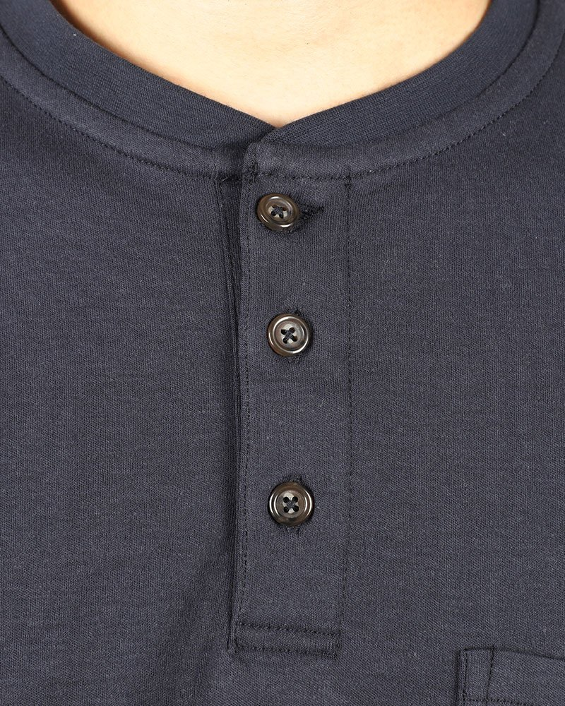 Cotton Flame Resistant Knit Safety Henley Work T-Shirt by Frecotex (Image #3)