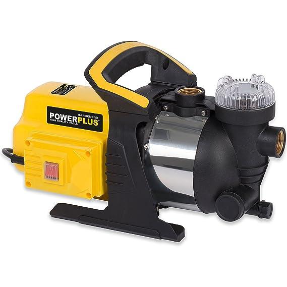 powerplus Gartenpumpe Wasserpumpe 1000 W Teichpumpe 3500 l//h Frischwasser Pumpe