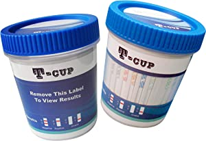 12 Panel Multi Drug Urine Test Kit Wondfo T-Cup TDOA-6125 (Multiple Quantities Available) Tests for 12 Different Drugs of Abuse: (AMP)(COC)(OXY)(THC)(PCP)(MDMA)(MOP)(BZO)(BAR)(MTD)(mAMP)(BUP)