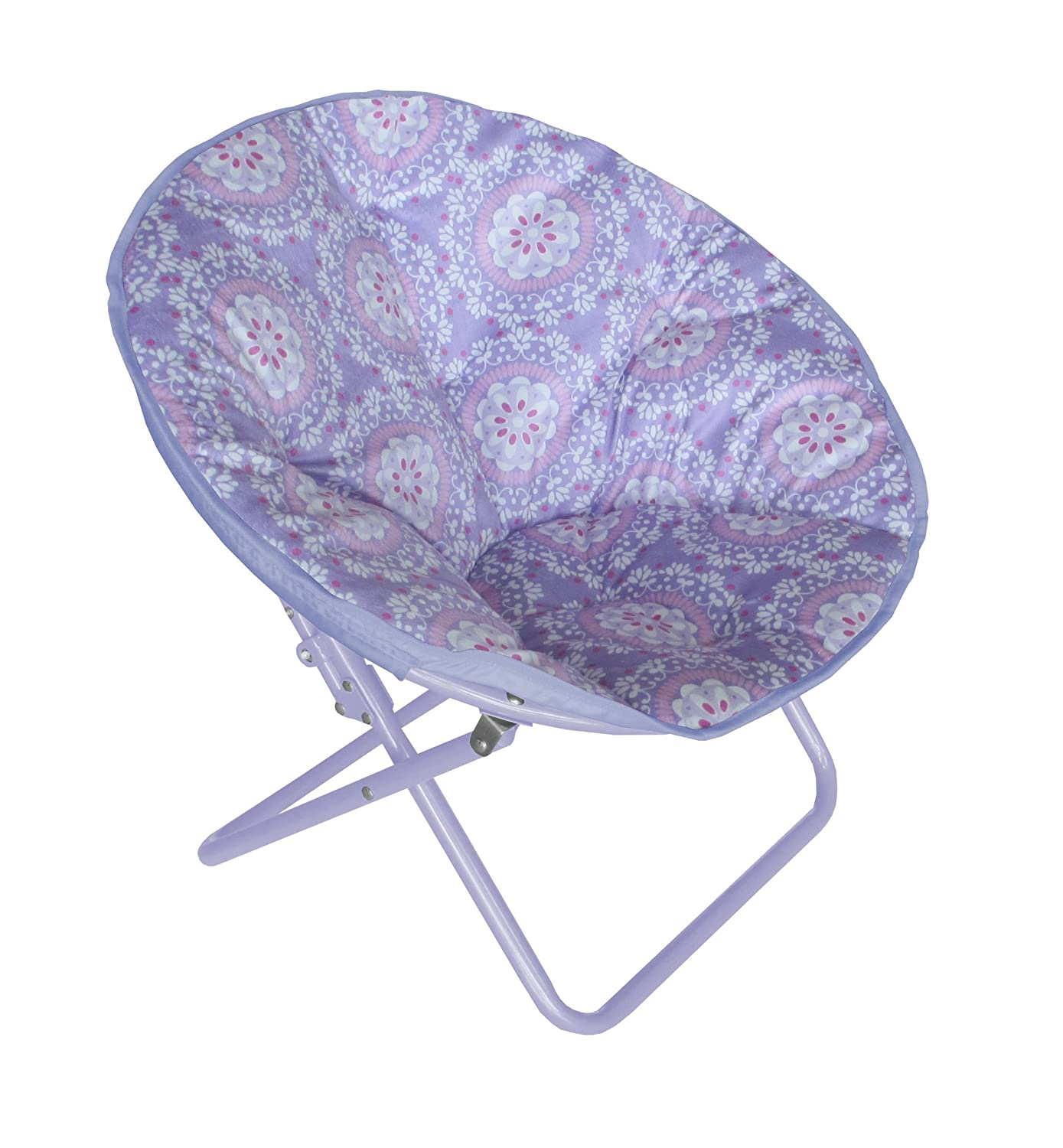 Amazon.com Heritage Kids WK656321 Kids Purple Medallion Printed Saucer Chair Kitchen u0026 Dining  sc 1 st  Amazon.com & Amazon.com: Heritage Kids WK656321 Kids Purple Medallion Printed ...