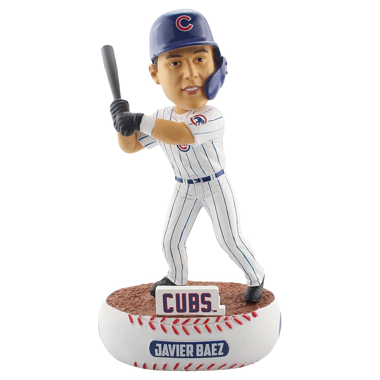 One Size Team Color FOCO MLB Chicago Cubs Unisex Baller BOBBLEBALLER Bobble