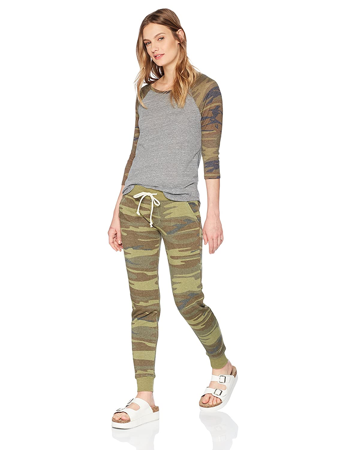 Eco grey camo Alternative Womens Snug Set Tracksuit