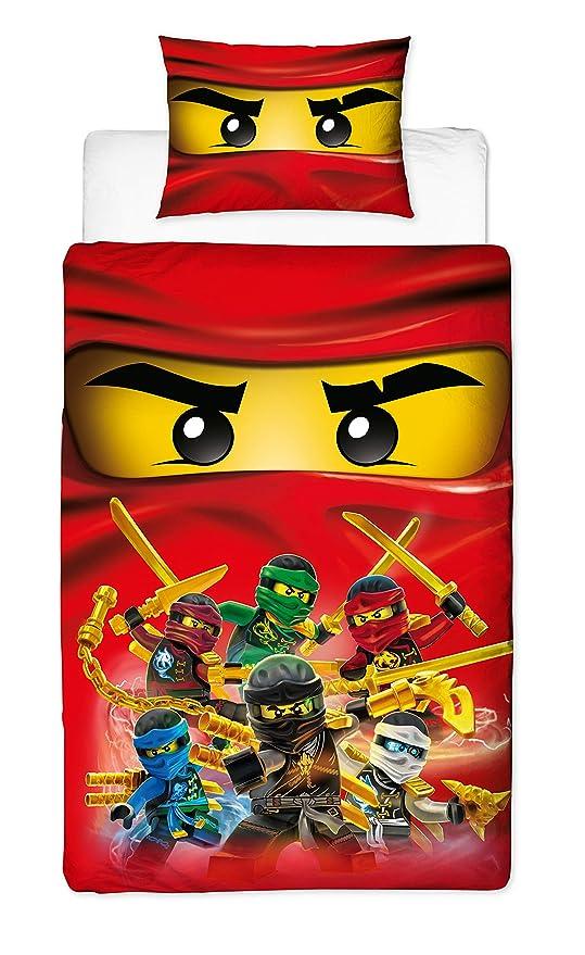 Amazon.com: Lego Ninjago - Juego de funda de edredón ...
