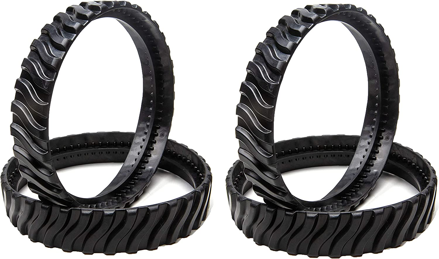 ATIE R0526100 Track Replacement Fits for Zodiac MX8 Elite, MX6 Elite, MX8, Mx6 Pool Cleaner Tire Track R0526100 (4 Pack)
