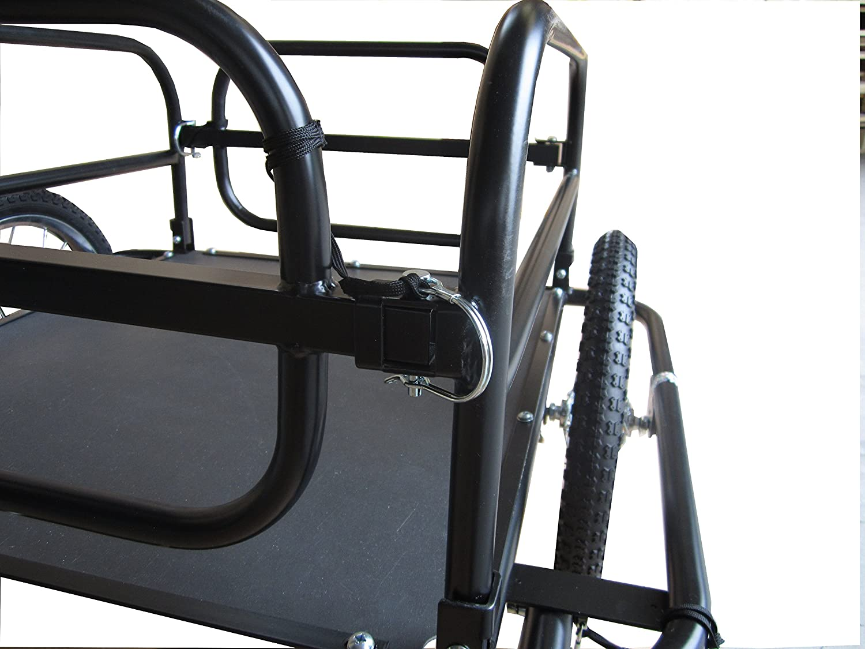 Carro de remolque para bicicletas para el transporte de objetos y materiales Polirone Shop Aquiles