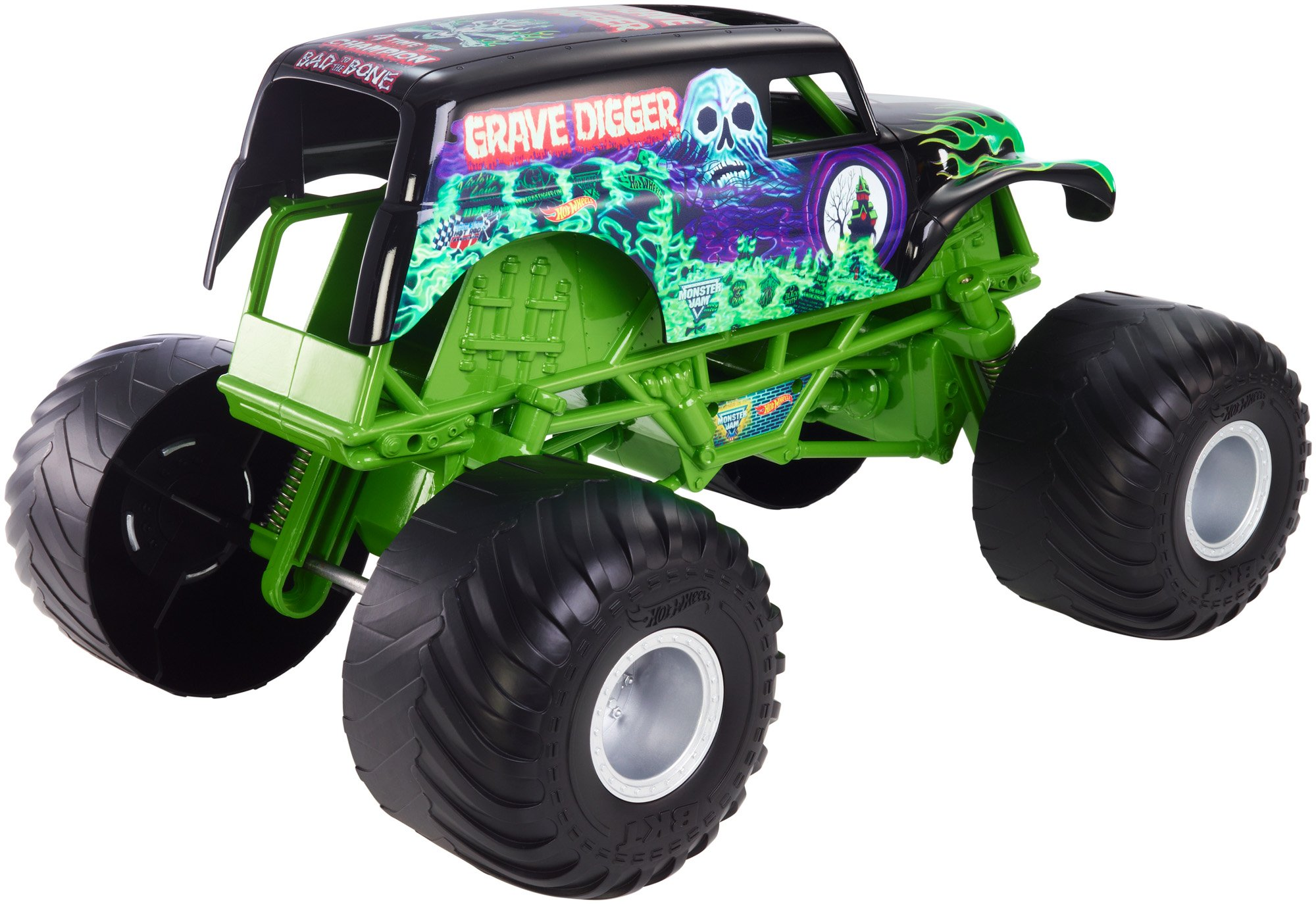 Hot Wheels Monster Jam Giant Grave Digger Truck by Hot Wheels (Image #2)