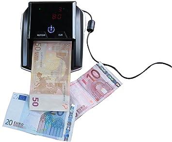 Reskal FA62441 - Detector de billetes falsos: Amazon.es: Oficina y papelería
