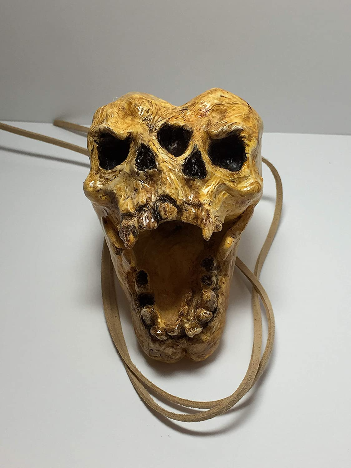 Conjoined Aztec Death Whistle