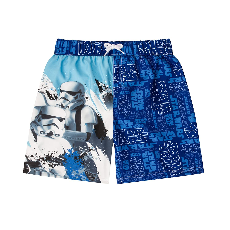 Boy Star Wars Swim Shorts Trunks Ages 3-10 Licensed