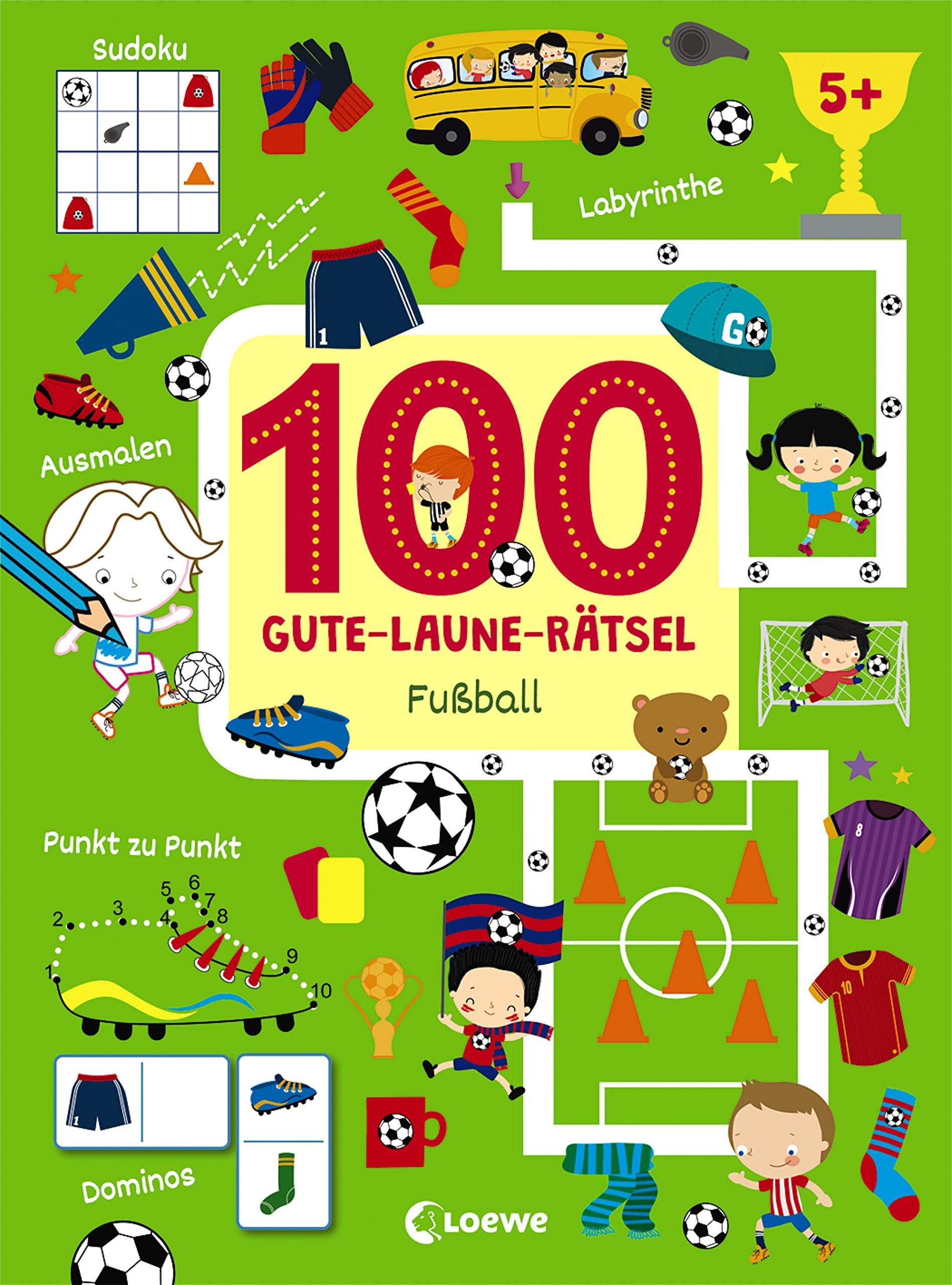 100 Gute-Laune-Rätsel Fußball  100 Gute-Laune-Rätsel