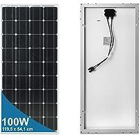 100 Watt 12 Volt Panel solar monocristalino