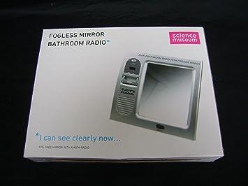 Science Museum Radio pour la salle de bains avec miroir ...