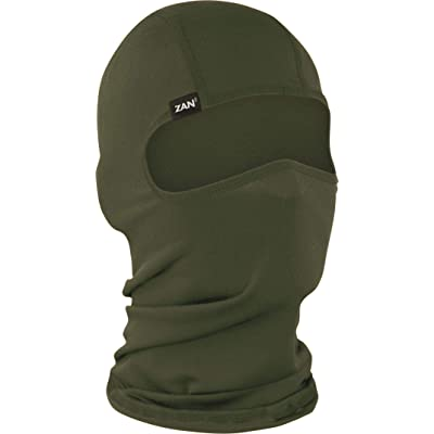 ZANheadgear Unisex Adult Balaclava (Olive Drab, One Size): Automotive