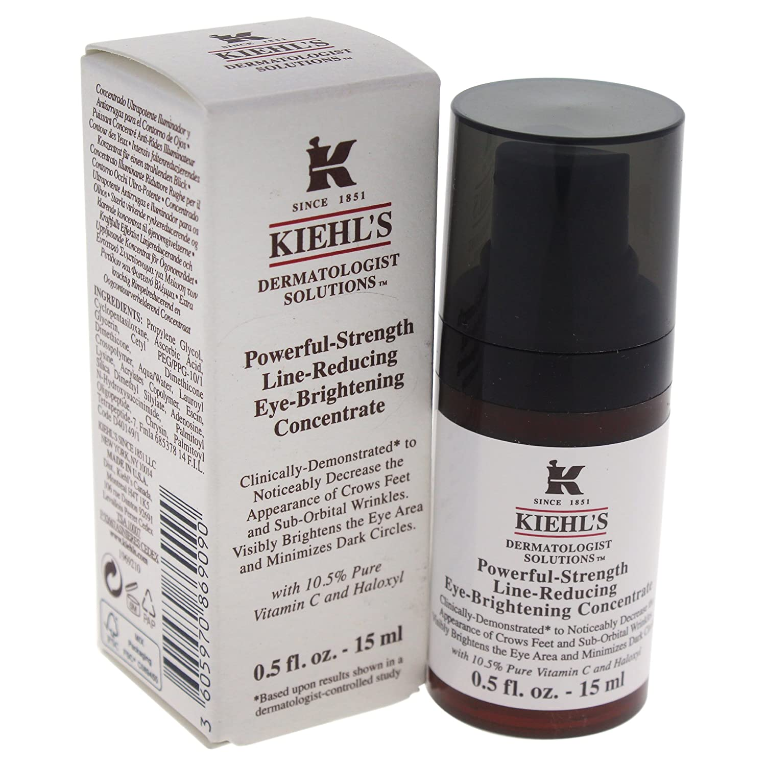 Kiehl's Powerful Strength Line Reducing Eye Brightening Concentrate 15ml/0.5oz Kiehl' s 3605970869090