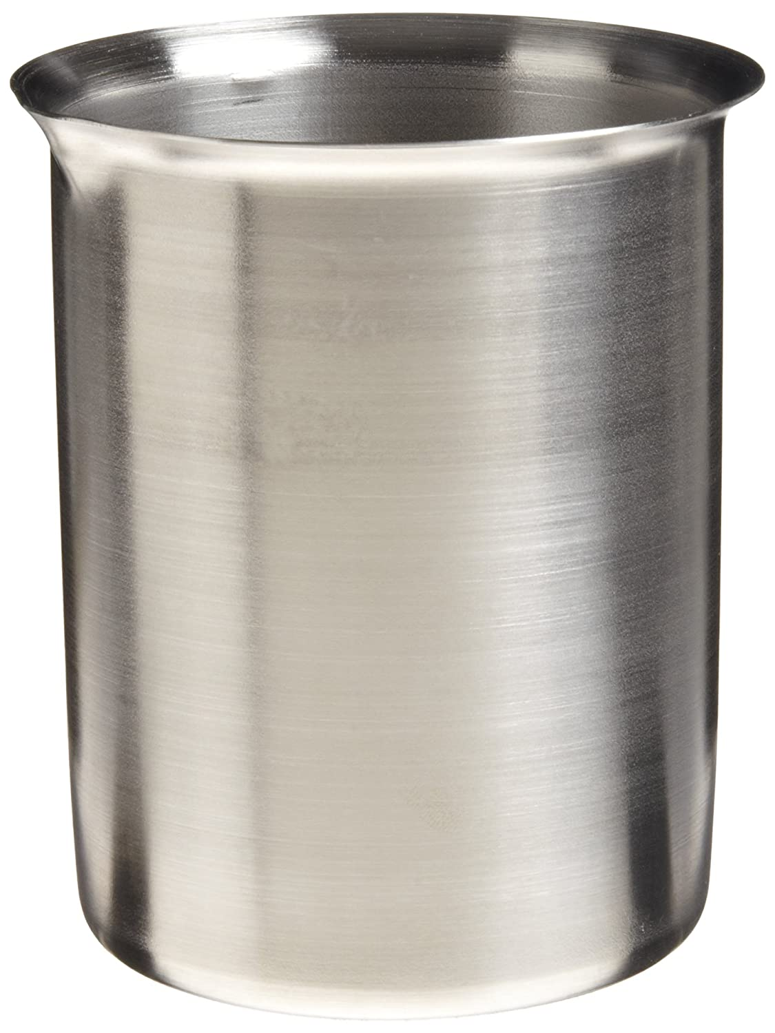 Polar Ware 600B Stainless Steel Griffin Style Beaker, 600 mL Capacity, 3-3/8' OD x 4-5/8' H 3-3/8 OD x 4-5/8 H 1526Q40EA