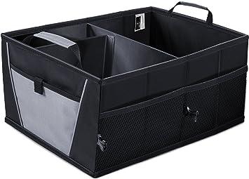 Amazon Com Auto Trunk Storage Organizer Bin With Pockets