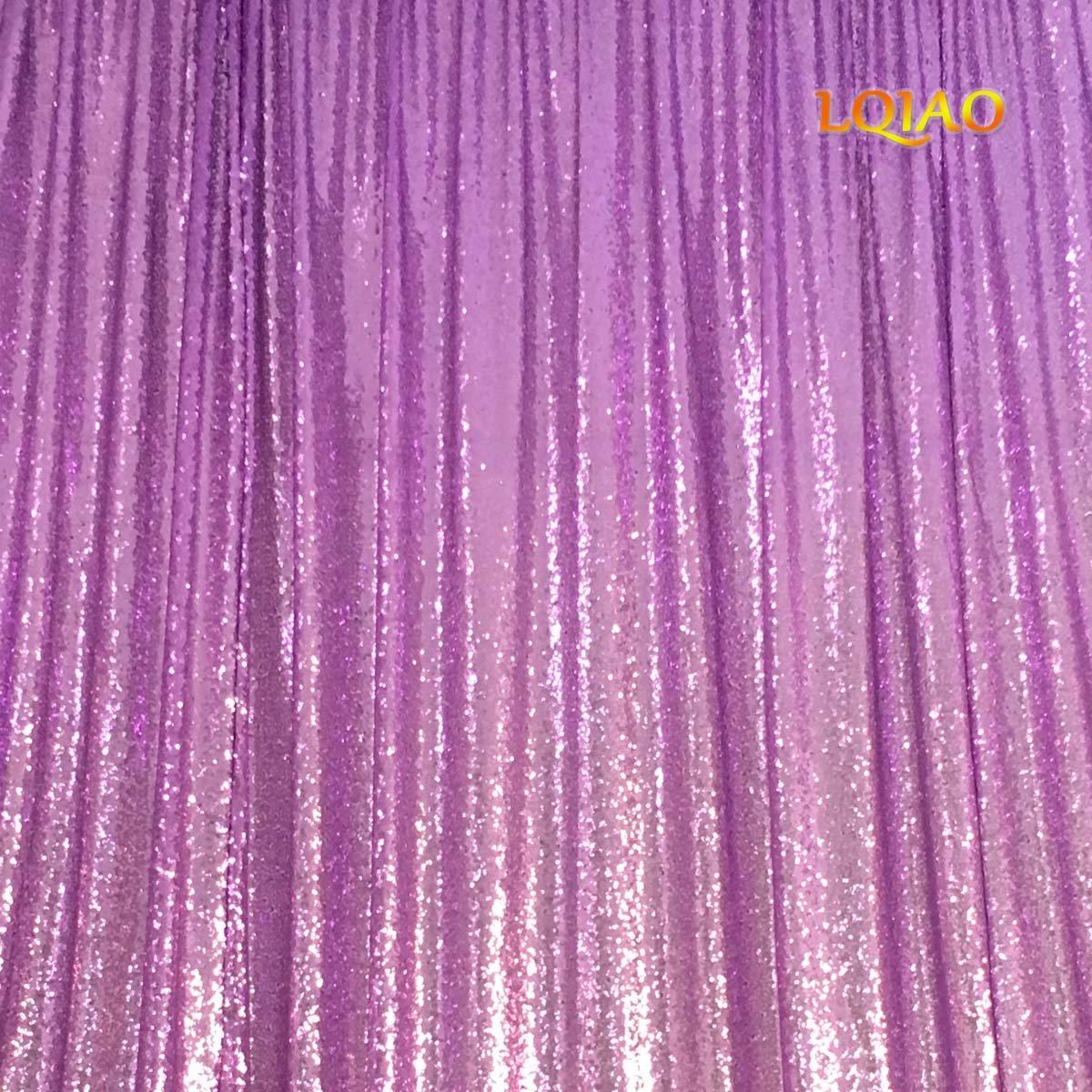 LQIAO 10 x 10フィート ライラック スパンコール 写真 背景 スパンコール 写真撮影 背景幕 結婚式/パーティー/ホーム/ベビーシャワー/誕生日装飾用   B07GP8Z12Q