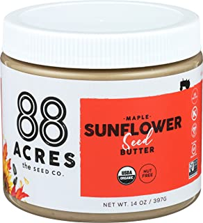 product image for 88 Acres, Maple Sunflower Seed Butter Jar