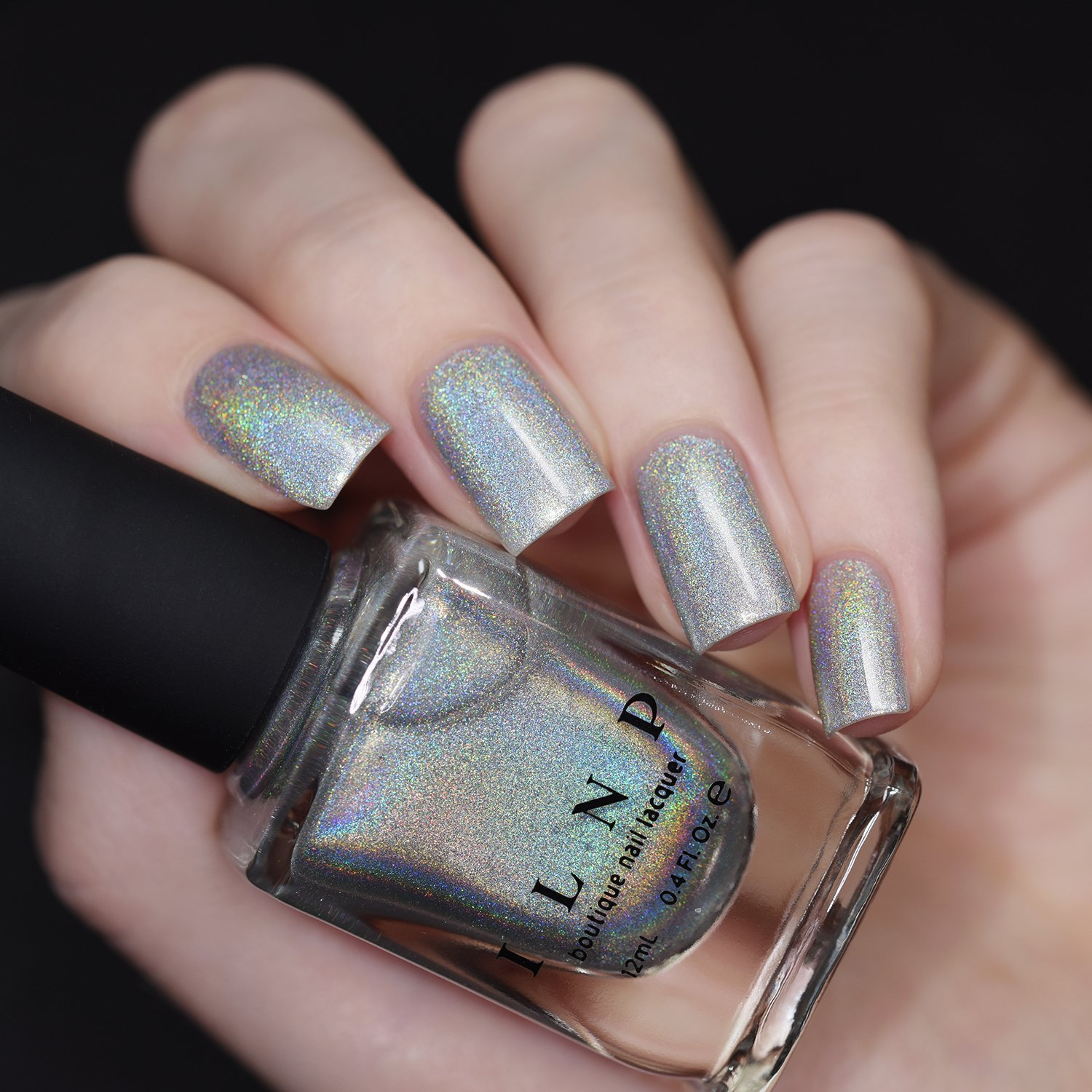 Amazon.com : ILNP MEGA - 100% PURE Ultra Holographic Nail Polish ...