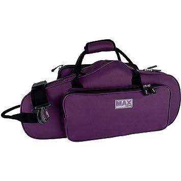Protec MX304CTPR - Estuche para saxofón alto, color púrpura ...