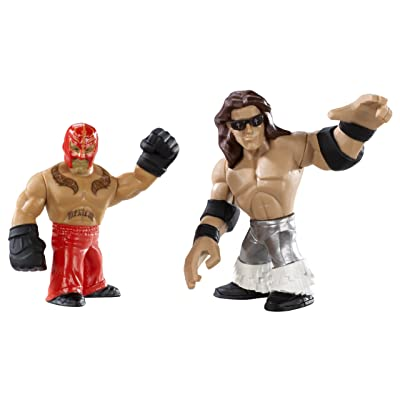 WWE Rumblers Rey Mysterio And John Morrison Figure 2-Pack: Toys & Games