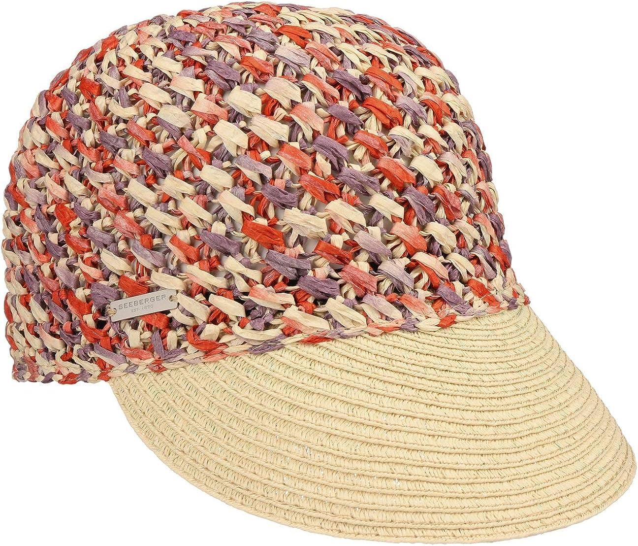 054002-00000 modischer Damen Hut ideal f/ür den Sommer aus Papierstroh