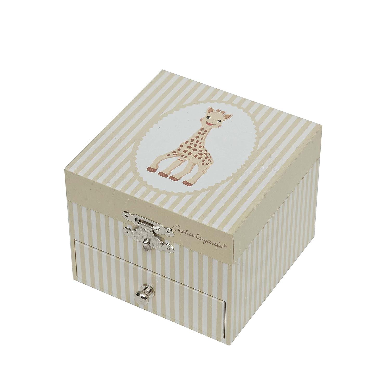 Sophie The Giraffe Trousselier Cube Music Box T20061
