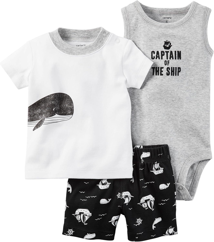 Carters Baby Boys Elephant Diaper Set