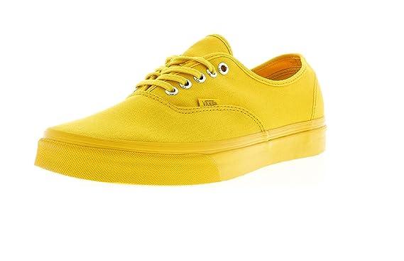 vans authentic yellow