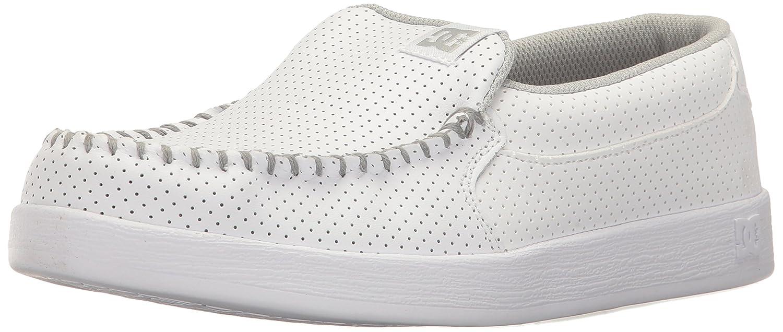 DC Women's Villain SE Slip-on Skate Shoe B01N7II80X 8 B(M) US|White/White/White