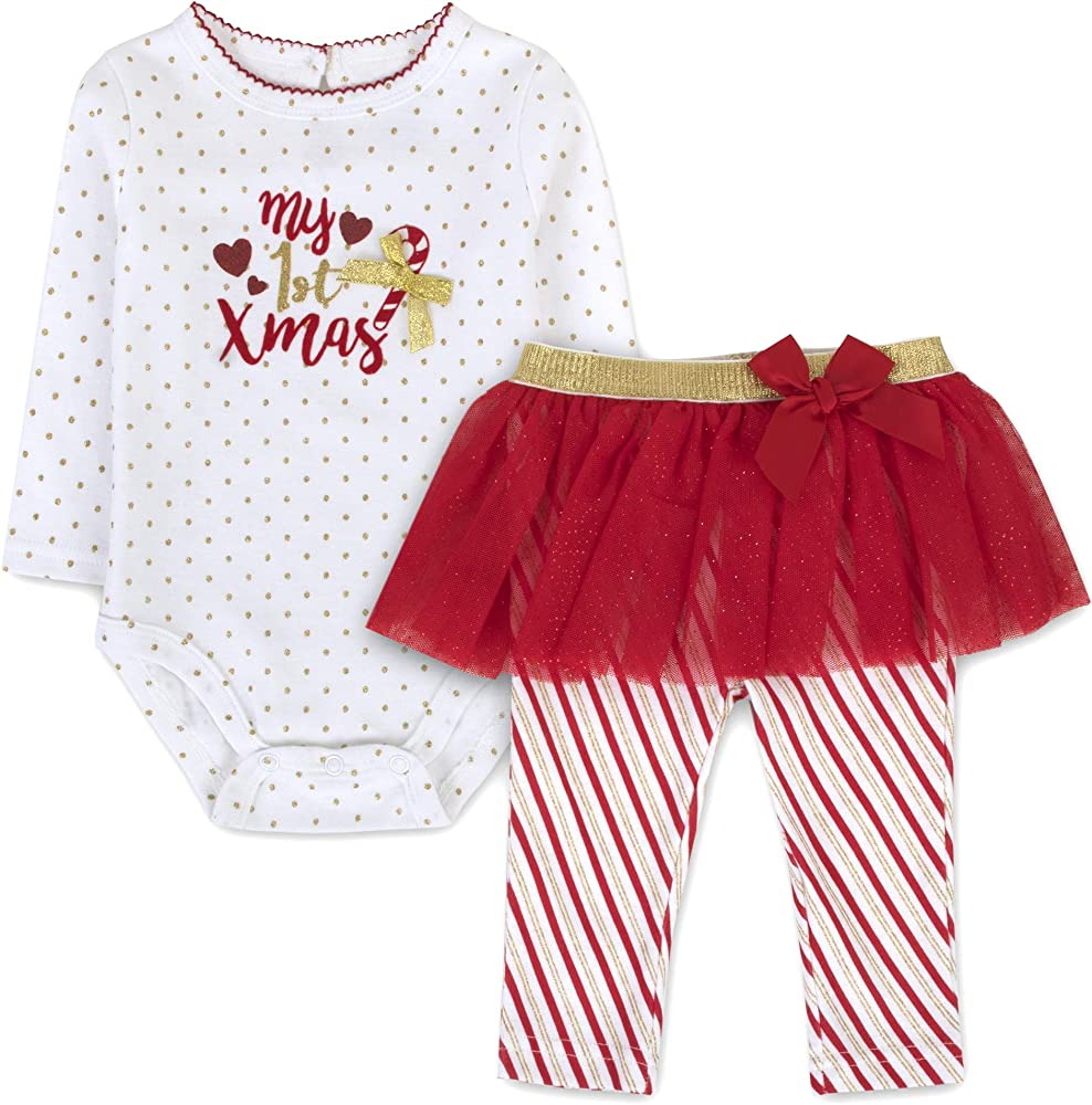 christmas outfit infant size 3 6 months red black check holiday onesie leggings
