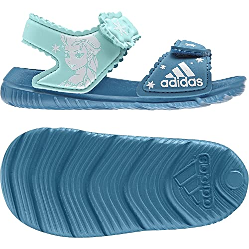 Adidas Dy Frozen Altaswim G I, Zapatillas Unisex Bebé, Varios Colores (Petmis/Ftwbla/Aquene), 21 EU