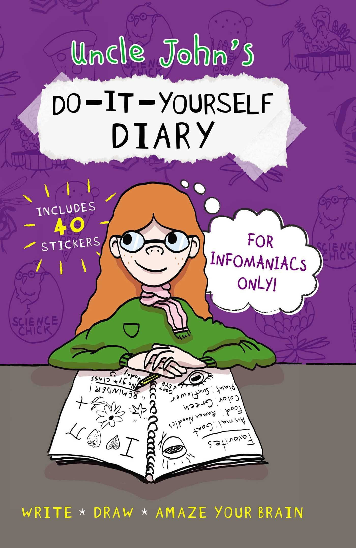Uncle John's Do-It-Yourself Diary for Infomaniacs Only