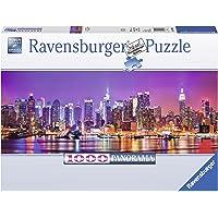 Ravensburger Italy Puzzle Panorama Luci di Manhattan, 1000 Pezzi, 15078