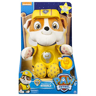 Paw Patrol - Snuggle Up Pup – Rubble: Toys & Games