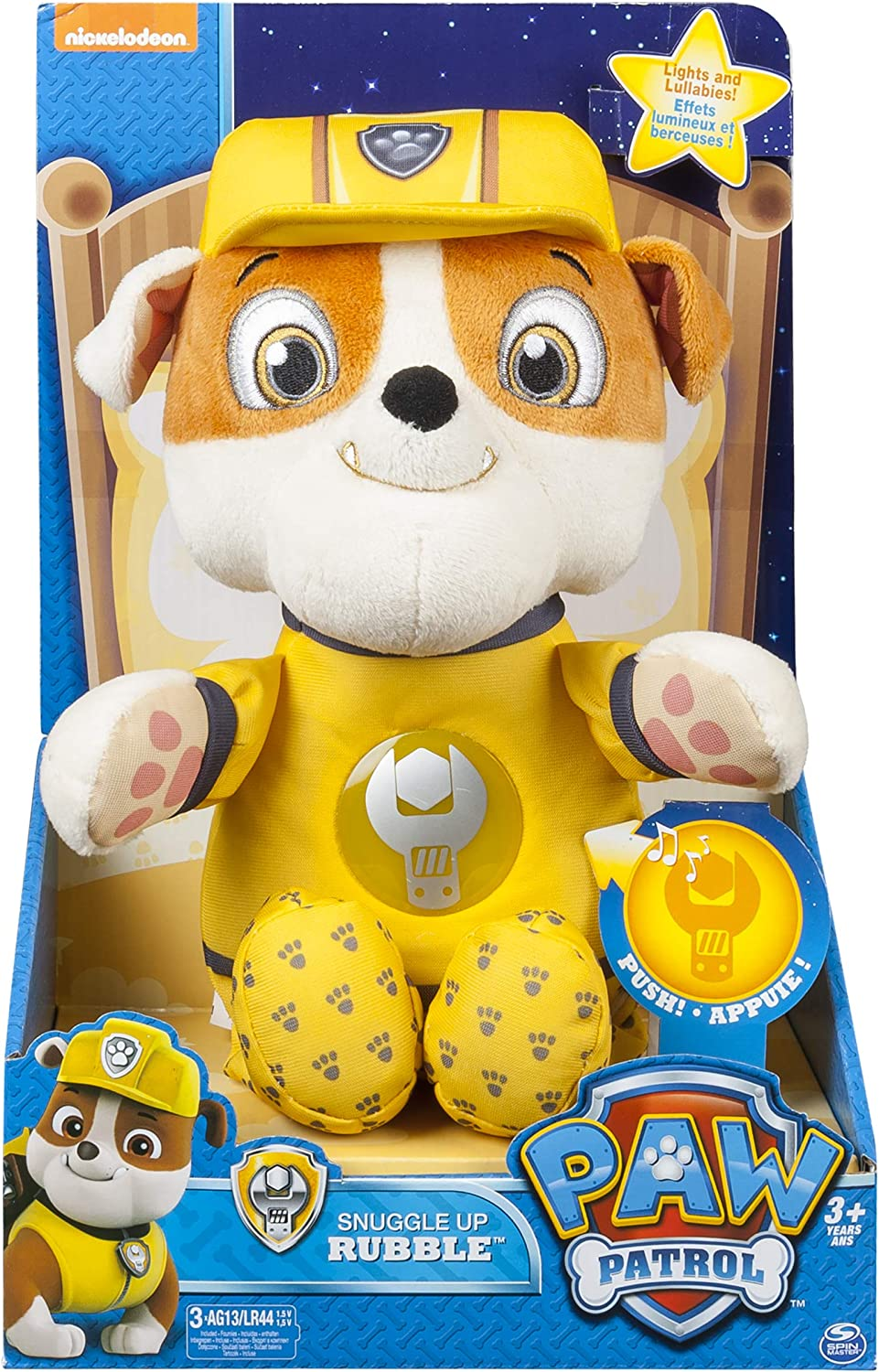 Paw Patrol - Snuggle Up Pup   Rubble