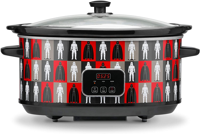 Star Wars 7-Quart Digital Slow Cooker with Sound