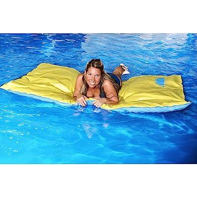 "Blue Wave Santa Maria Unsinkable Floating Pool Mattress, 71"": Toys & Games"
