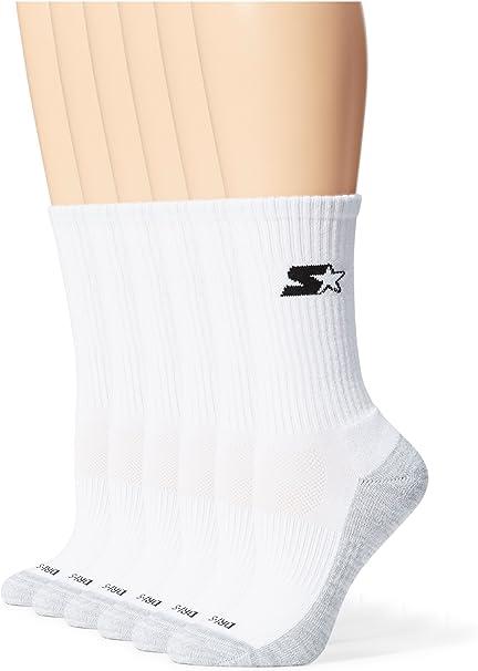 Starter girls 6-pack Quarter-length Athletic Socks Casual Sock